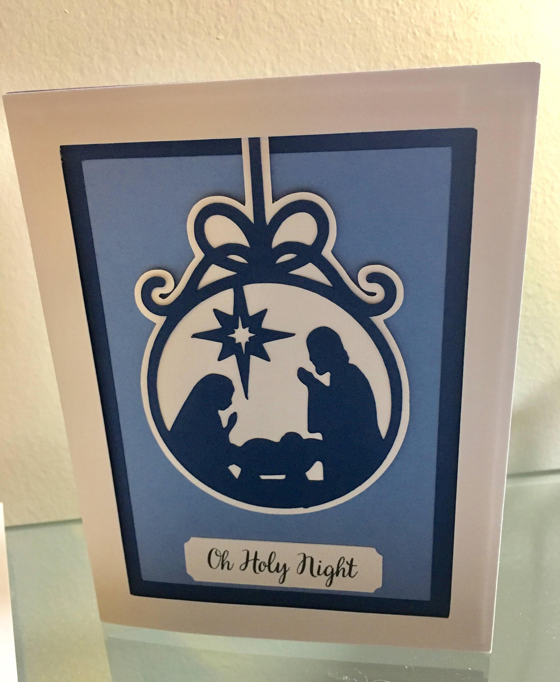 Handmade Religious Christmas Cards | Etsy