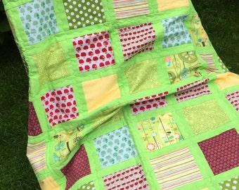 Patchwork Quilt Quilts Home Accessory Patchwork