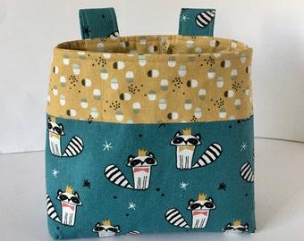 Bicycle bag handlebar bag kids basket Unisex Gift Green
