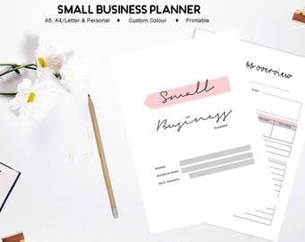 Small Business Planner, Printable Business Planner, Etsy Business Planner, Business Organizer, Home Business Planner, Printable Planner
