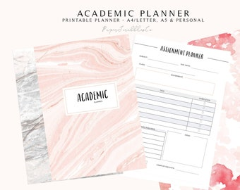 student planner printable etsy