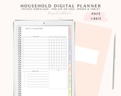 Goodnotes Household Planner, Digital Planner for Goodnotes, Digital Home Planner, Pad Planner, Digital Journal with Hyperlink Tabs