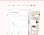 Digital Budget Planner, Digital Finance Planner, Digital Planner for Goodnotes, iPad Planner, Digital Journal with Hyperlink Tabs, Digibujo
