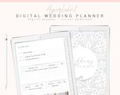 Digital Wedding Planner, GoodNotes Wedding Planner, Wedding Digital Planner, Wedding Binder, Wedding Organizer, Wedding Planner PDF