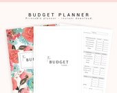 Finance Planner, Budget Planner, Printable Financial Planner, Budget Binder, Finance Printable, Finance Binder, Monthly Bills