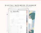 Digital Business Planner, Online Business Digital, Goodnotes Digital Planner, Social Media, iPad Planner, Digital Journal with Hyperlink Tab