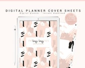 Digital Planner Cover Set, Digital Binder Cover, Digital Planner for Goodnotes, iPhone/iPad Planner, Digital Notebook Cover, Subject Covers