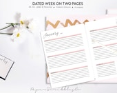 2018 Week on Two Pages Pl...