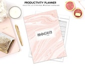 Productivity Planner, Success Planner, Project Planner, Goal Planner, Printable Productivity, Project Planner