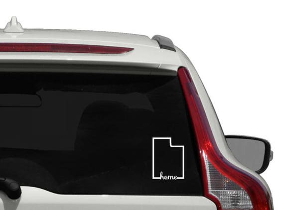 Illinois State Oval Sticker Decal Vinyl IL