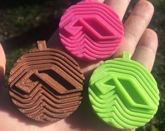 Anjunabeats logo 3D printed keychain