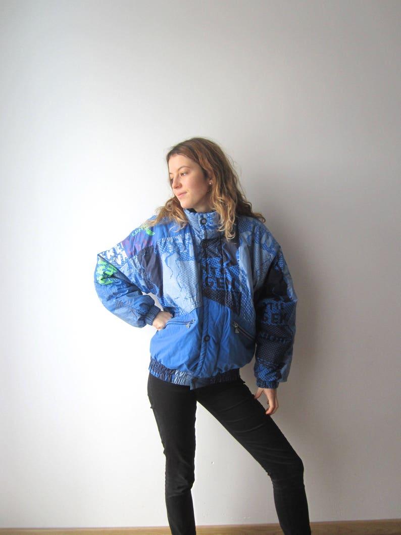 31fa5b872 Vintage Luhta Ski Jacket Blue Snow Jacket Hipster Ski Jacket Winter  Activewear Sport Jacket Small Size Mens Ski Jacket