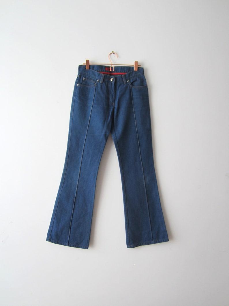 2797b36f1f Vintage Hugo Boss Jean pantalon Style Disco Jeans jambe large