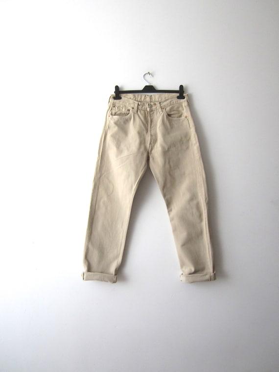 Vintage 501 Levi Jeans Levis Strauss Jeans 1990's