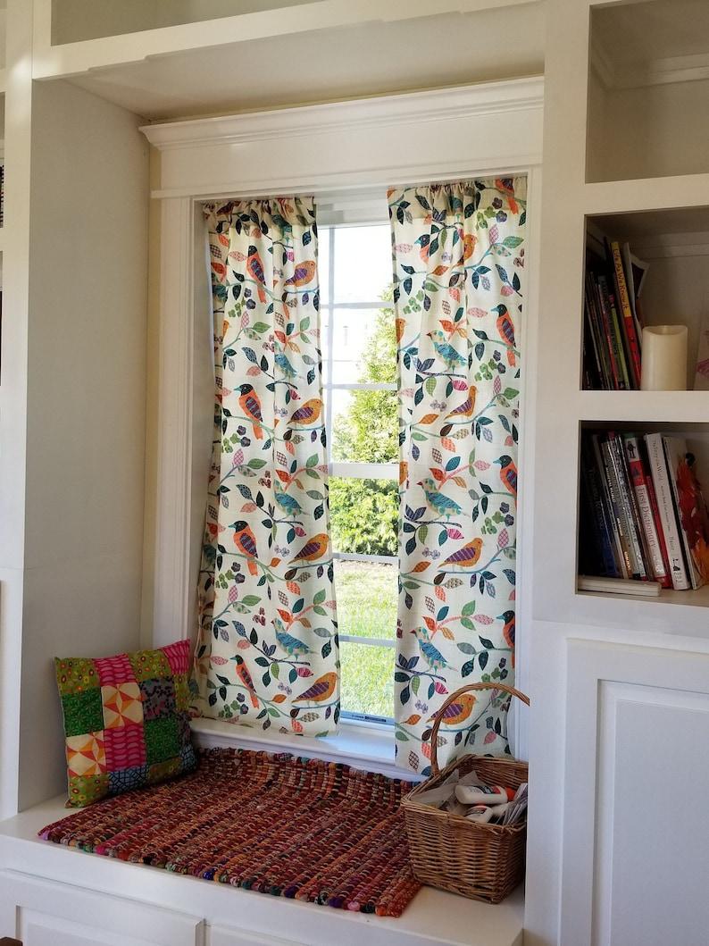 Vorhänge Bunten Druck Vorhang Platten Fenster Behandlungen Etsy