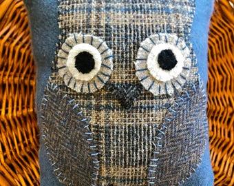 Mini Owl Pillow