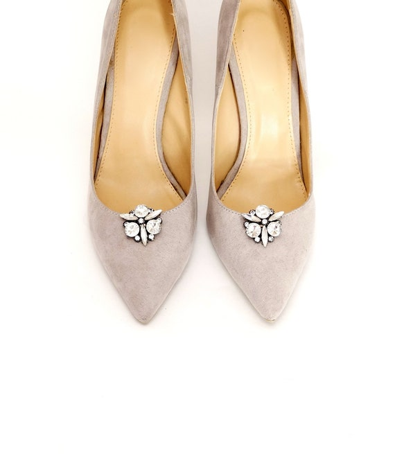 267d609acec7b Crystal shoe clips - shoe clips Manuu, shoe jewelry