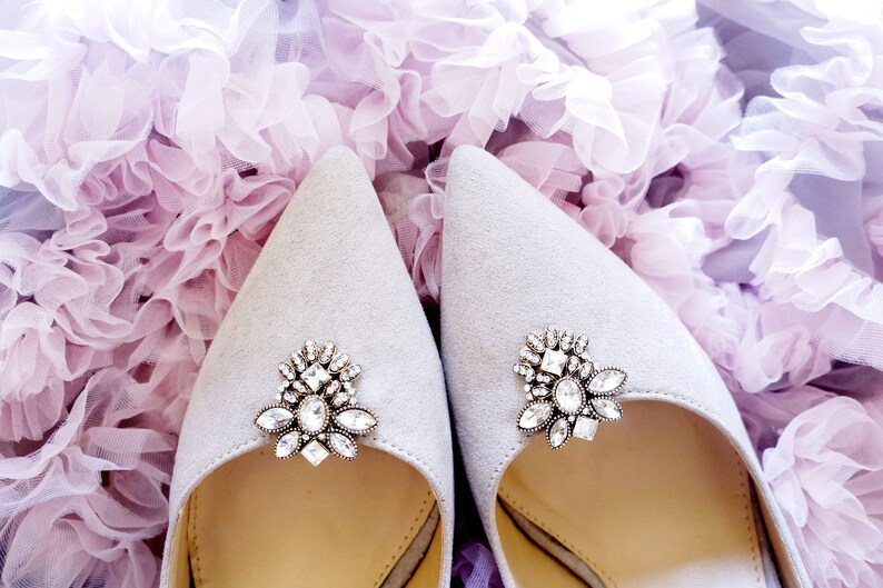52396be90e142 Shoe jewelry rhinestone - shoe clips Manuu, wedding accessories, shoe clios  women, zircons and rhinestones