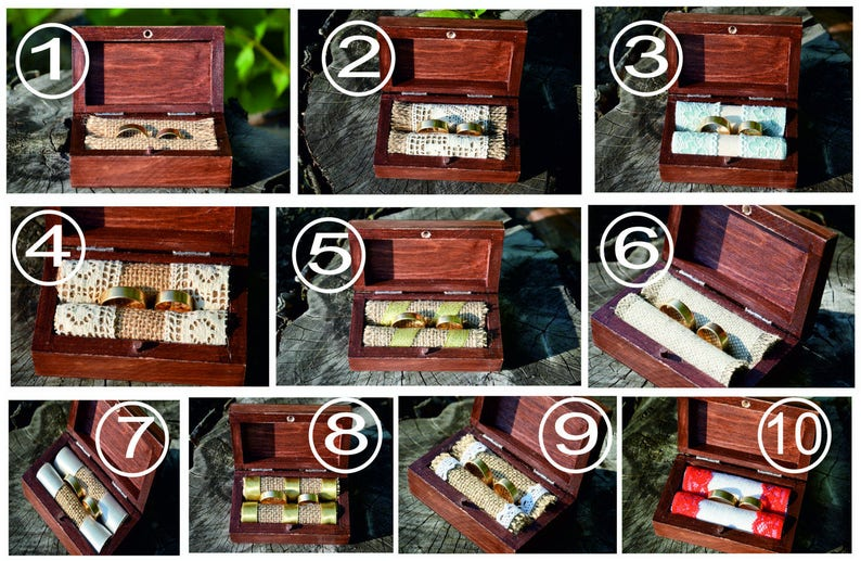 R50 wedding box Personalized ring box with glass lid wooden ring box custom ring holder ring bearer box,engagement ring box ring box