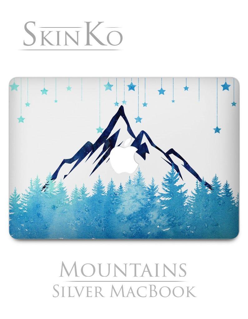 8f09d6f00c3b0 MacBook decal nature A1278 Mac air 11 skin Mountain print MacBook 15 inch  cover MacBook pro 13 North Pole Mac 12 Landscape Watercolor Retina
