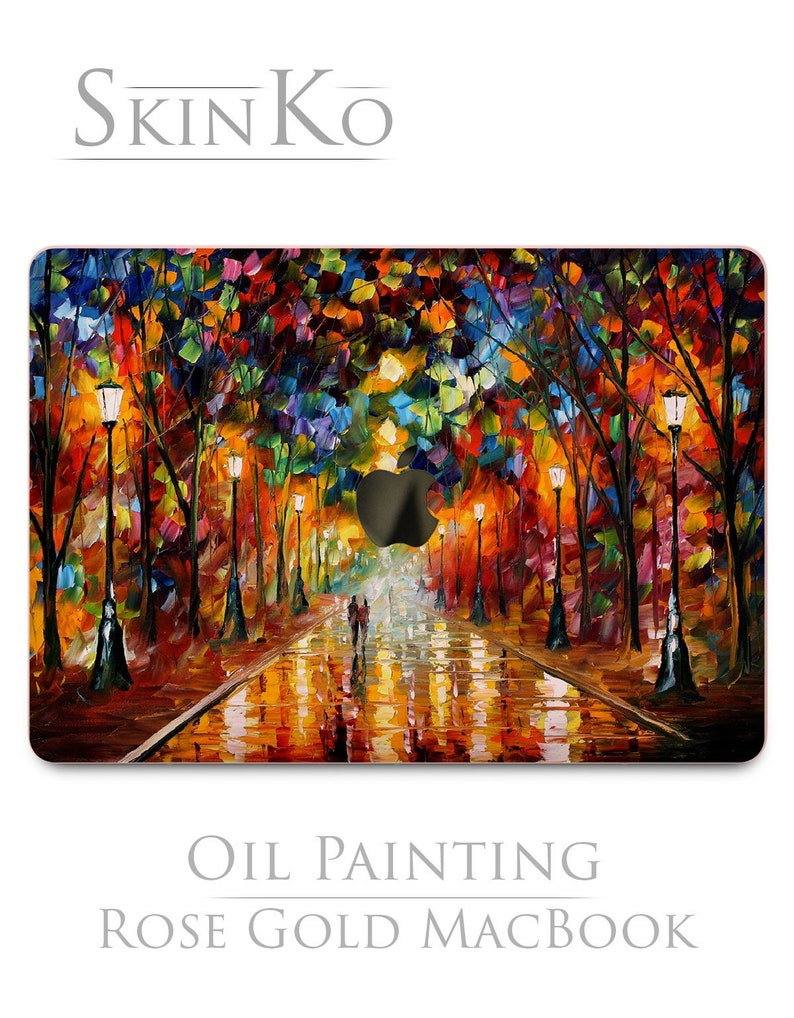 "Oil Painting Design Hard Case Cover For Mac Macbook Pro Air 11 13/""15/"" Retina 12"
