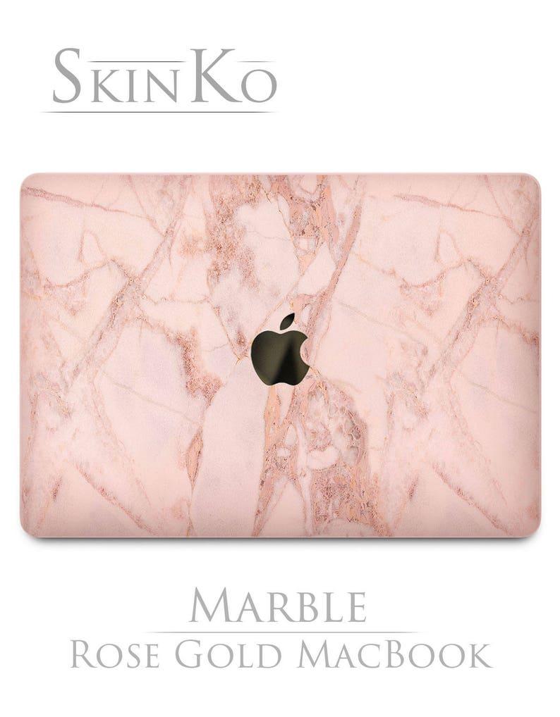 0d791018d1410 Pink Marble MacBook A1502 Mac air 11 skin MacBook 15 sticker Stone Pink and  Gold cover MacBook pro clear vinyl decal MacBook 13 inch skin 12