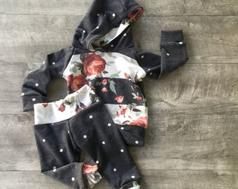 Baby girl outfits / newborn girl clothes / cute baby outfits / fall girl outfit