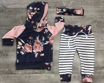 Baby girl clothing / girls' clothes / toddler girl clothes / newborn girl outfits