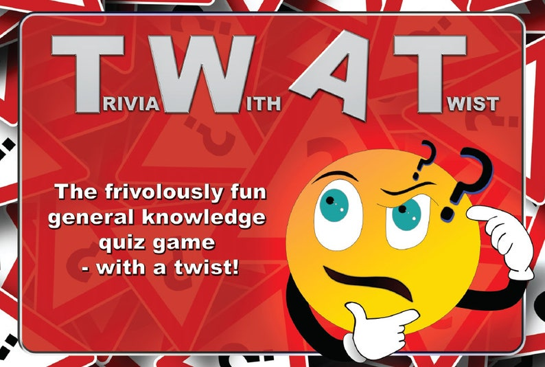 TWAT Game - Trivia With A Twist - Adult Novelty Trivia Quiz Game - Joke  Gift/Secret Santa