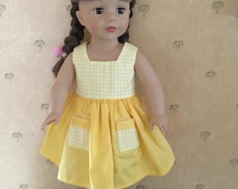 Sundress for 18 inch doll