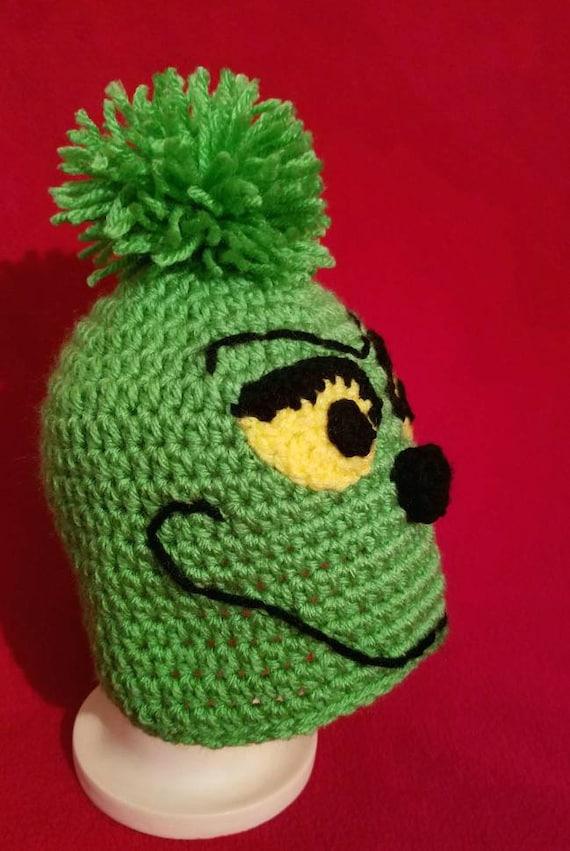 Crochet Grinch Hat Infant-Adult Sizes Infant Grinch Hat  44677ff98bf