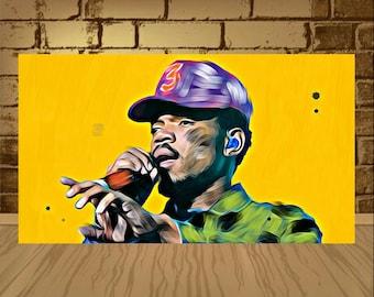 Chance The Rapper Poster Print Art Rap Music 300gsm 13x19