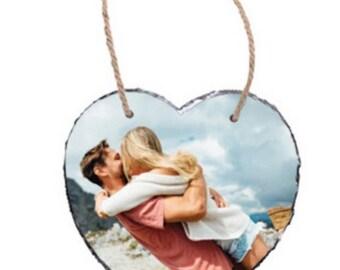 Hanging Heart Slate