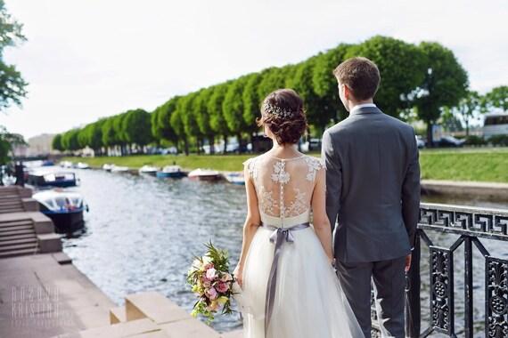 Boho dress Wedding wedding wedding Dress wedding vintage Short Sleeve dress gown Wedding Romantic Wedding Dress elegant dress r5Zrq7Xxw