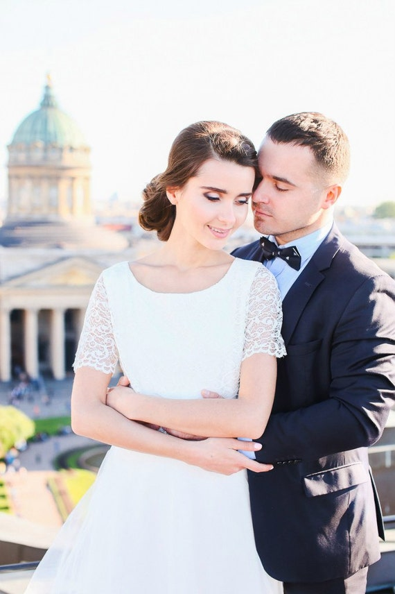 Dress dress Wedding short Boho Dress sleeve vintage dress Wedding wedding elegant wedding Wedding Romantic dress gown wedding OOvxzUw