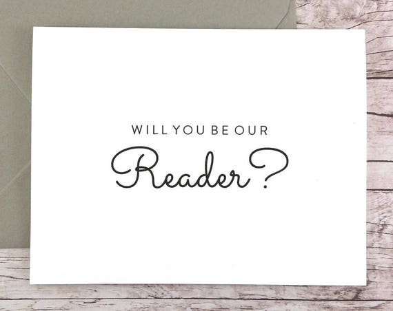 Will You Be Our Reader Card (FPS0016)