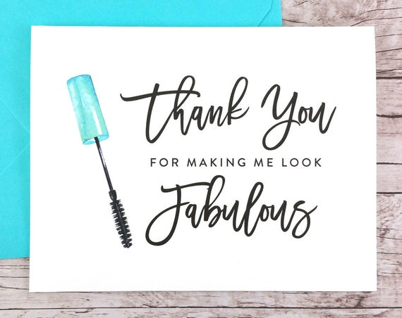 Thank You For Making Me Look Fabulous Card (FPS0043)