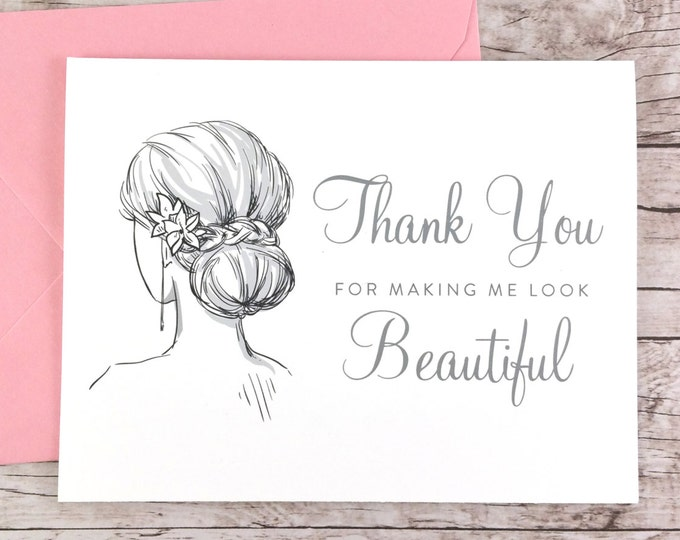 Thank You For Making Me Look Beautiful Card (FPS0042)