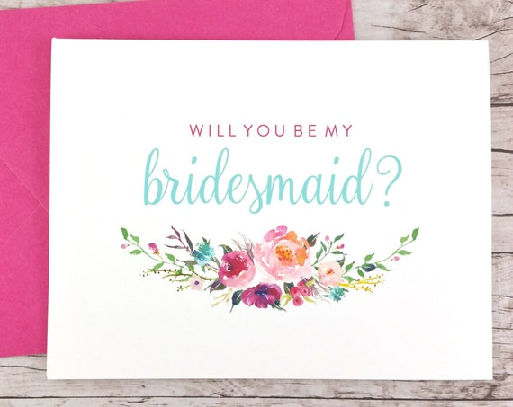 Will You Be My Bridesmaid Card (FPS0021)