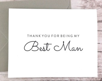 Thank You For Being My Best Man Card (FPS0016)