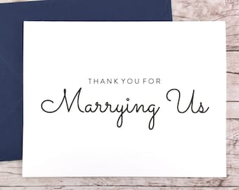 Thank You For Marrying Us Card (FPS0016)