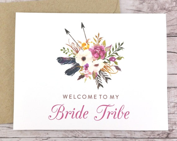 Welcome to My Bride Tribe Card (FPS0022)