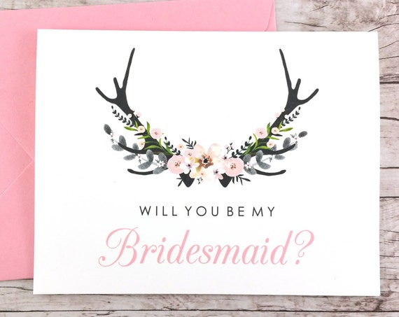 Will You Be My Bridesmaid Card (FPS0024)