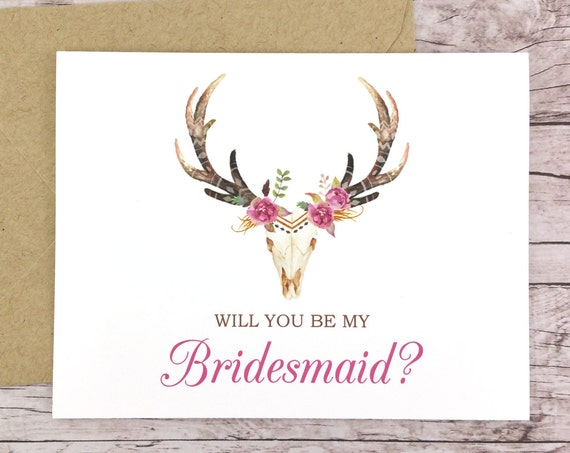 Will You Be My Bridesmaid Card (FPS0044)