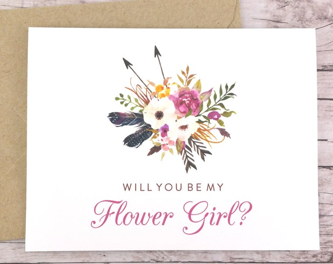 Will You Be My Flower Girl Card (FPS0022)