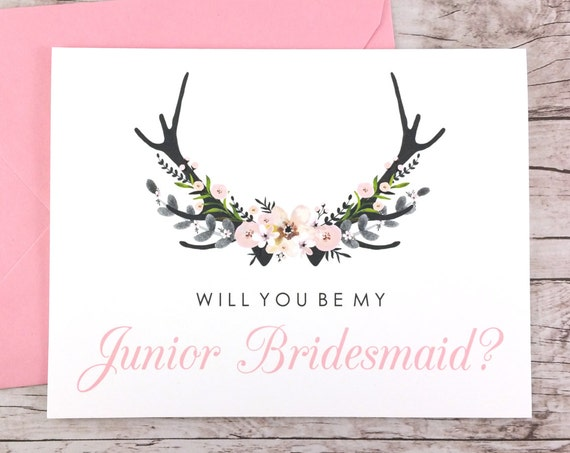 Will You Be My Junior Bridesmaid Card (FPS0024)