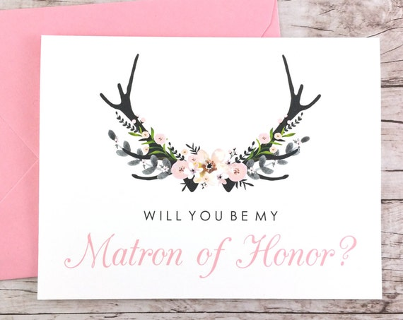 Will You Be My Matron of Honor Card (FPS0024)