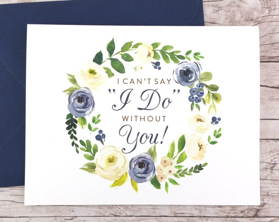 I Can't Say I Do Without You Card (FPS0015)