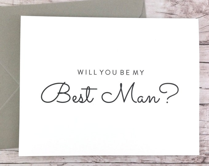 Will You Be My Best Man Card (FPS0016)