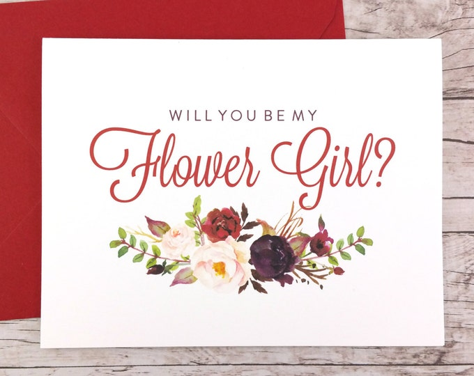 Will You Be My Flower Girl Card (FPS0050)